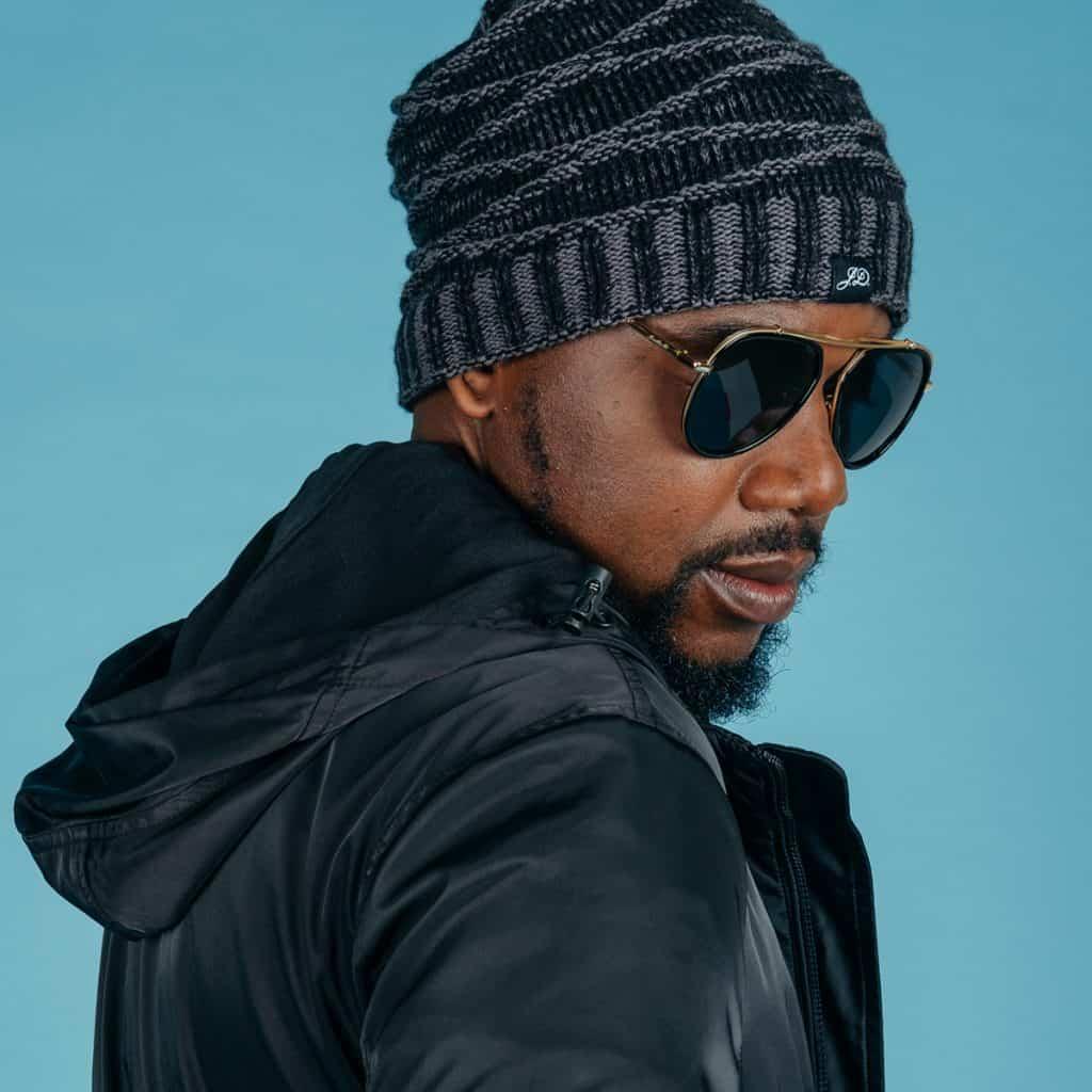 A stylish African man wearing Jonathan D sunglasses