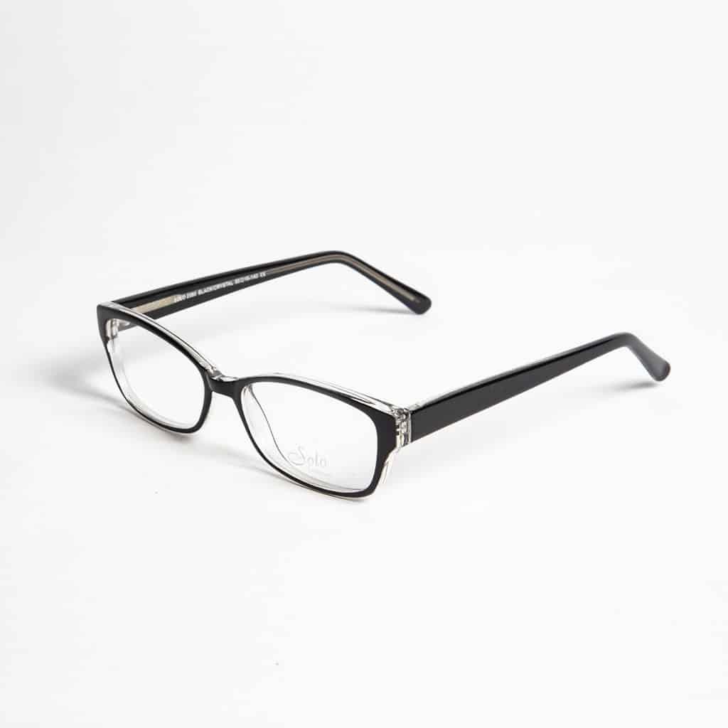 Solo Eyewear model Solo 2380 BlkCrys
