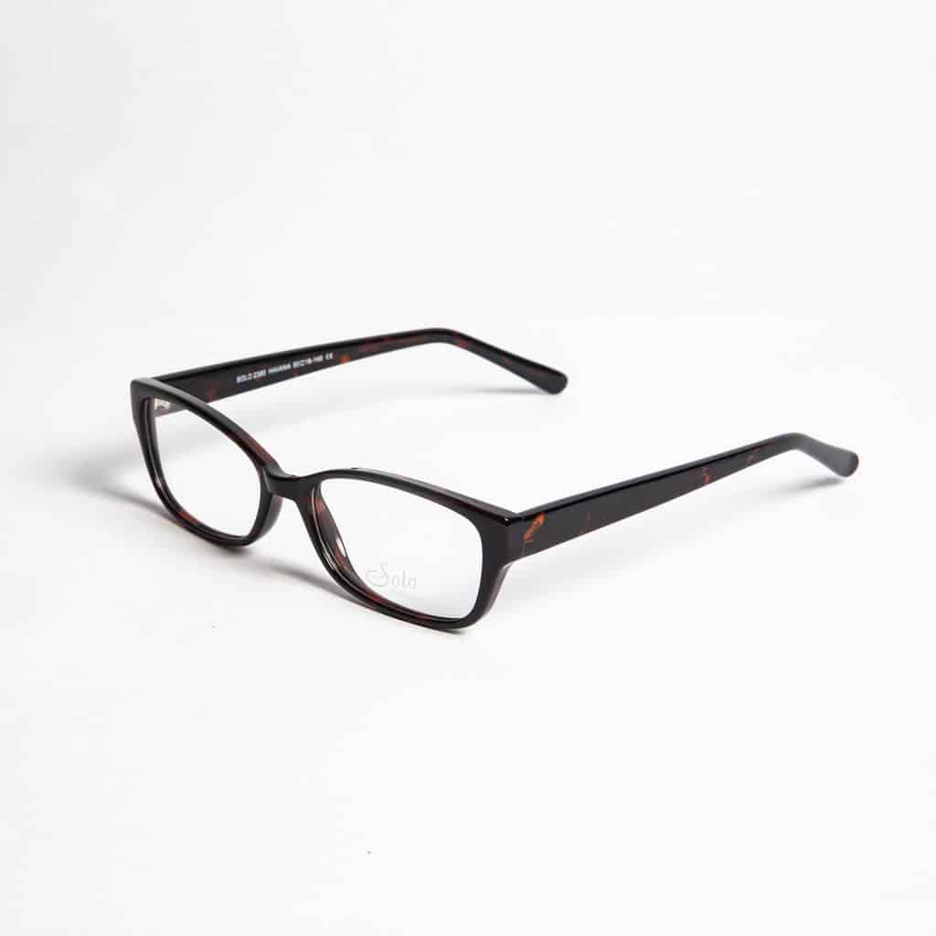 Solo Eyewear model Solo 2380 Havana