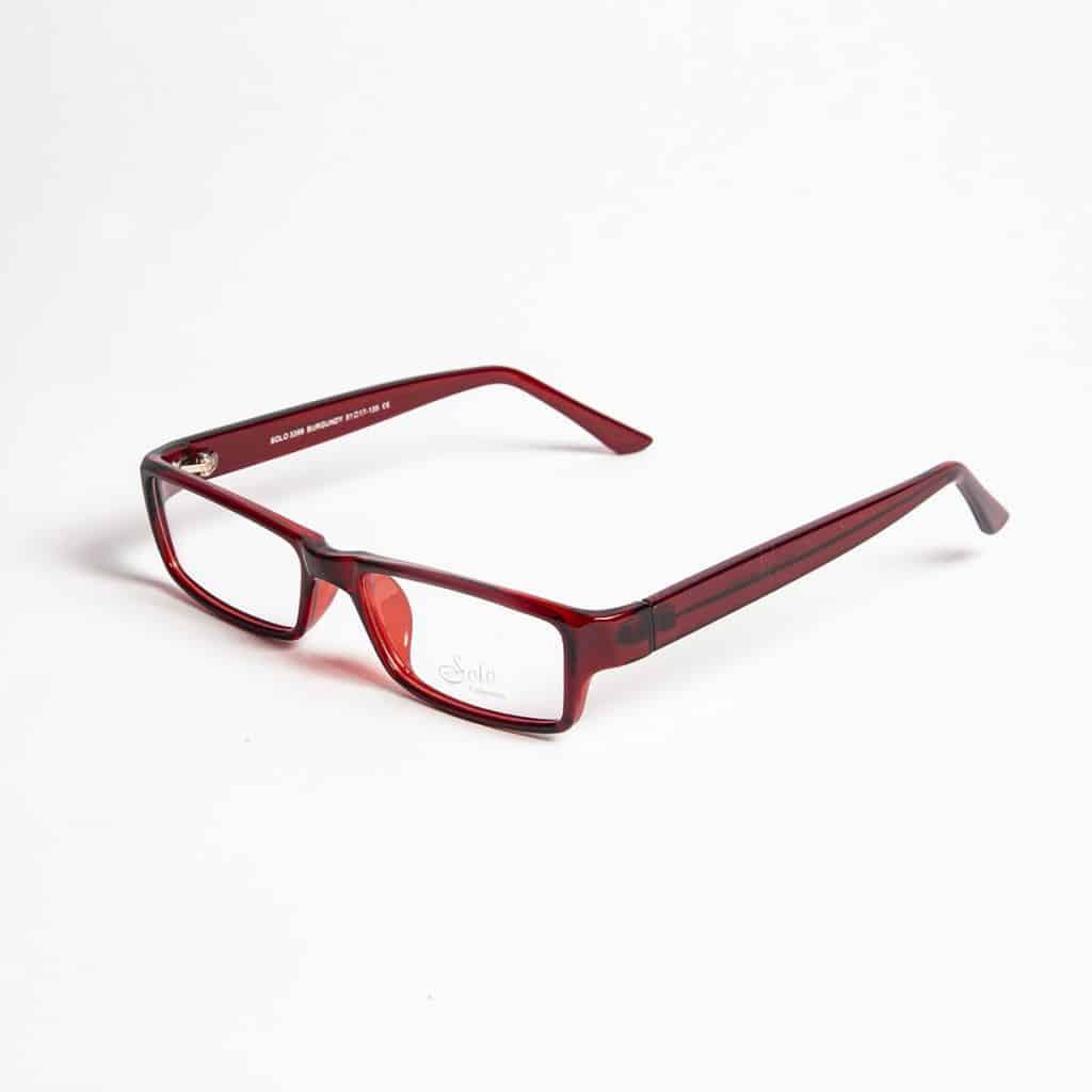 Solo Eyewear model Solo 3398 Burgundy