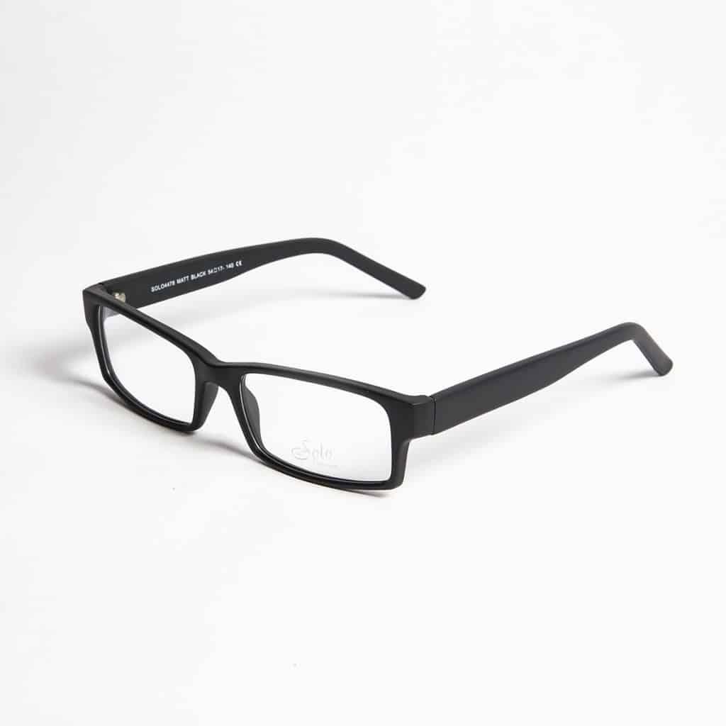 Solo Eyewear model Solo 4478 MattBlack